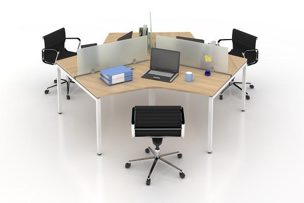 Vách ngăn kính văn phòng hiện đại VNK-01