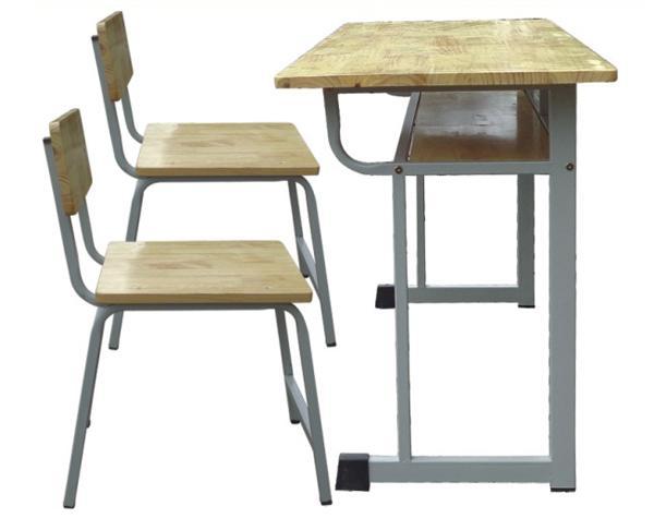 Bàn ghế học sinh gỗ cao su BHSCS3