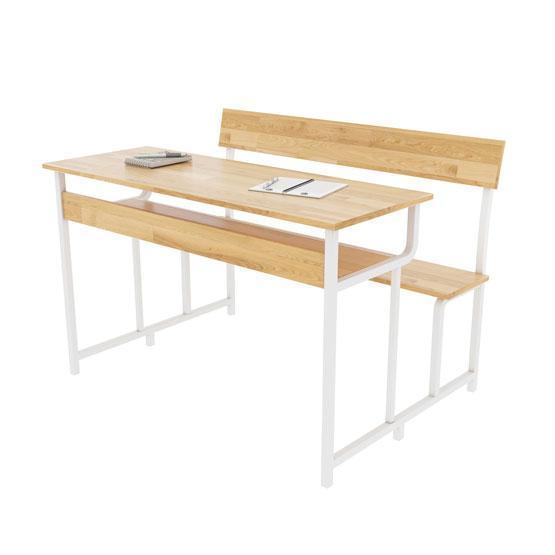 Bàn ghế học sinh gỗ cao su BSV-03-00CS