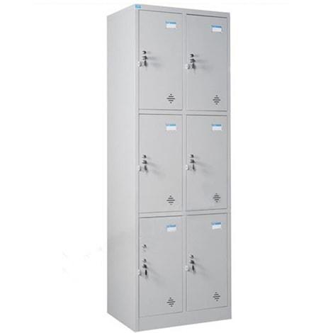 Tủ locker 6 ngăn nhỏ gọn TU983-2K