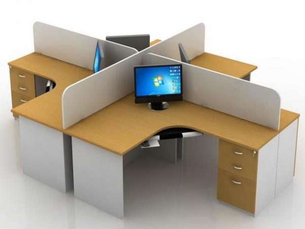 Vách ngăn VNG-02 cho văn phòng hiện đại