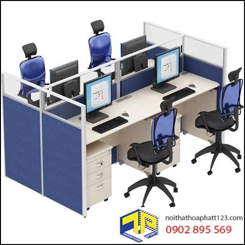 3 mẫu vách ngăn văn phòng kính Hòa Phát bán chạy nhất tại TPHCM