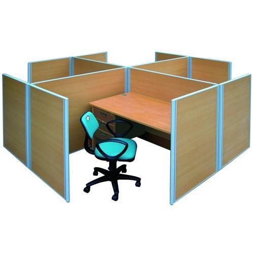 Vách ngăn gỗ văn phòng VNHP02
